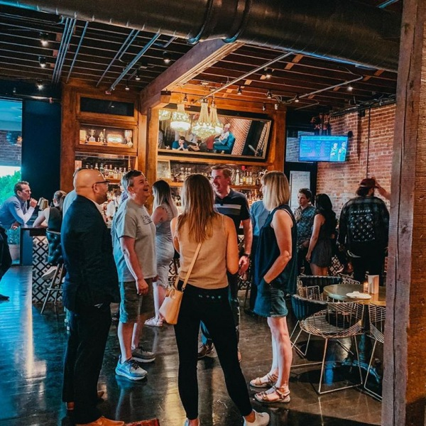 We had such a great time celebrating our First 50 residents last night. Thank you to everyone who came out and made the evening fun! We are so thankful for such wonderful residents who embrace this community and make it the best place to live in OKC! . . . Shout out to our retail locations @plantshoppe and @simpletongoods for the awesome gifts! #movewest #westvillageokc