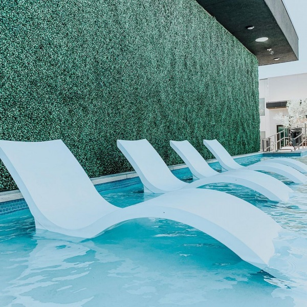 Its pool party day! All residents are invited to join us + @maryeddysokc on the rooftop tonight, starting at 6:30, for cocktails, canapés, and fun. Can't wait to see you there! #movewest