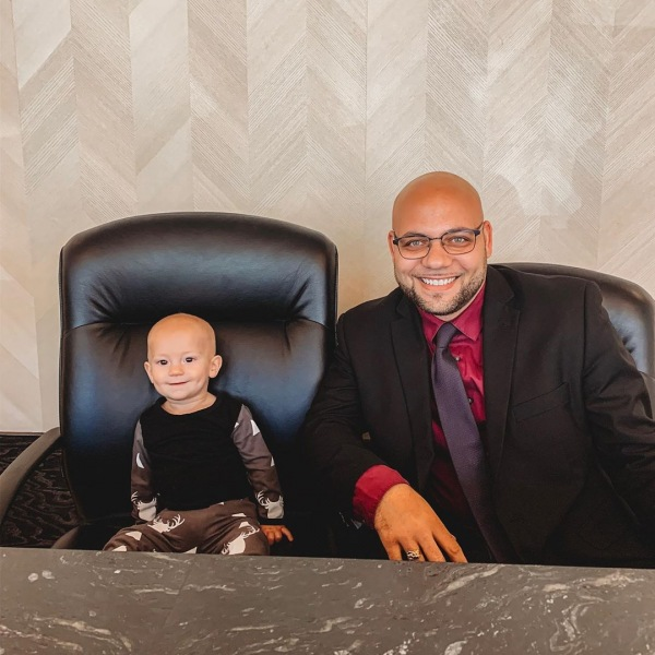 We had some leasing help from Jeremy's look a like this afternoon!